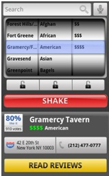 Urbanspoon App for iPhone, iPad, Android