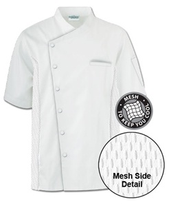 Traditional Short-Sleeved Chef Coat Style #64717