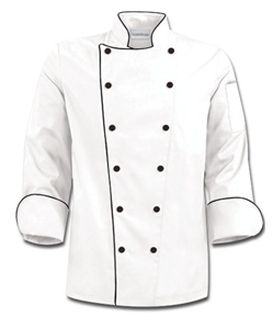 Traditional Long-Sleeved Chef Coat Style #63519