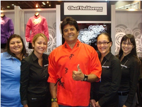 Eric Estrada with the ChefUniforms.com Sales Team