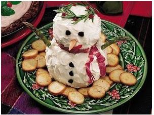 Cheesy Snowman