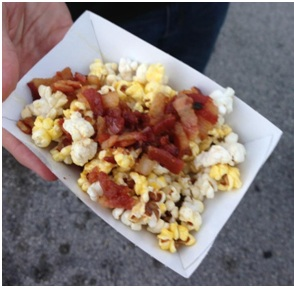 Bacon Infused Popcorn