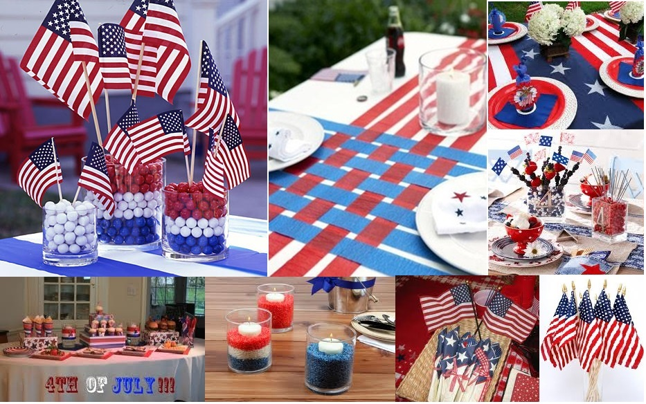 decorations dishes and dress for the 4th of july chef vibes