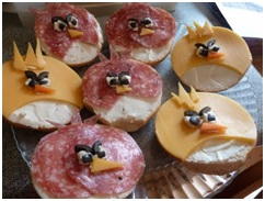 Angry Birds Bagels