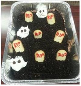Graveyard Cake 1