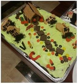 Graveyard Cake 2