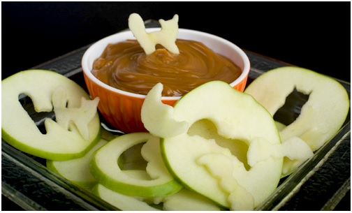 Halloween Apple Cutouts