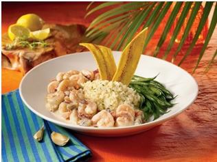 Chef Ron Duprat's Shrimp and Rice Cakes Recipe -  Chefuniforms.com