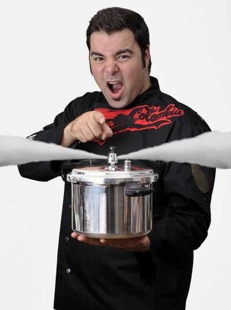 George Duran w Pressure Cooker