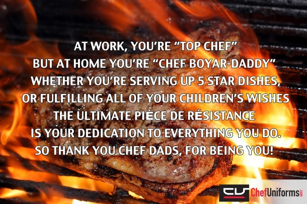 Chef Dad Poem