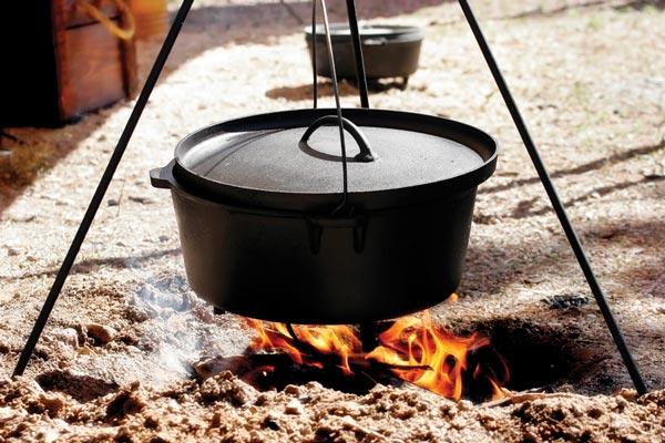 Cast Iron Dutch Oven - Lorenzo Boni's Must Have Kitchen Tool found on blog.Chefuniforms.com