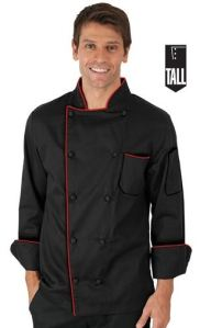 Men's TALL Traditional Fit Chef Coat; Style #  T63316