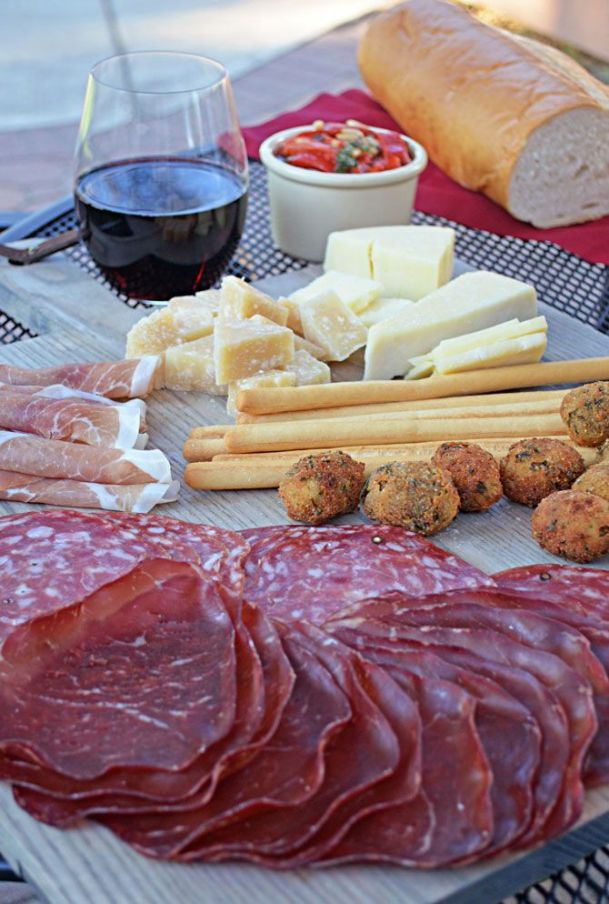 Italian Antipasti found on blog.chefuniforms.com