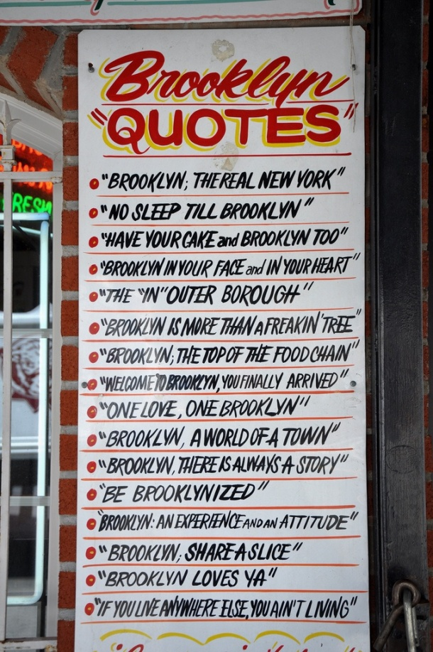 Popular Brooklyn Quotes found on blog.chefuniforms.com