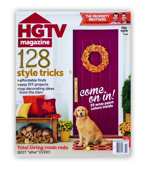 Chefuniforms.com Chef Adjustable Bib Apron - Chalk Stripe Black featured in HGTV Magazine November 2014