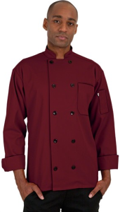 Pantone Color for 2015 - Marsala - Chefuniforms Style 405 in Burgundy