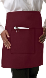 Pantone Color for 2015 - Marsala - Chefuniforms Style CAF28 - Burgundy