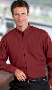 Pantone Color for 2015 - Marsala - Chefuniforms Style E1396 - Burgundy