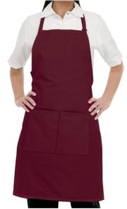 Pantone Color for 2015 - Marsala - Chefuniforms Style F8 - Burgundy