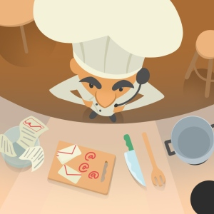 Chefs first job in the Kitchen