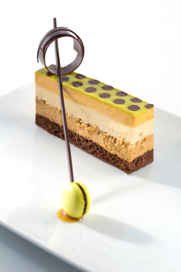 Chef Maura Metheny's Peanut and Caramel Crunch - Top 10 Pastry Chef Dessert