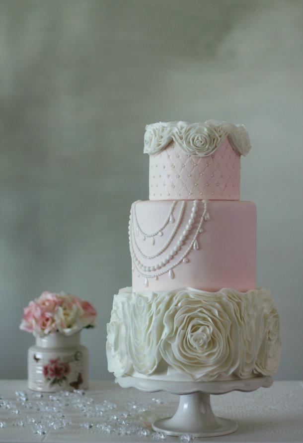 Chefuniforms.com November 2015 Chef of the Month - Cake Designer Eva Salazar Wedding Cake