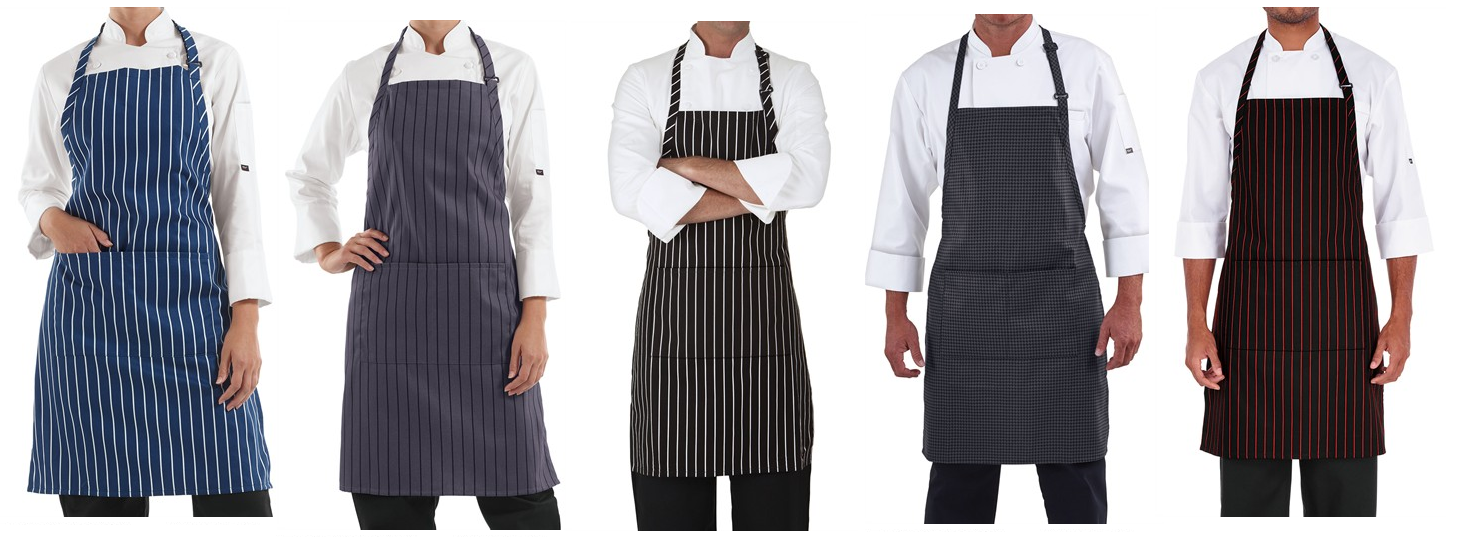 ChefUniforms.com Aprons - New Styles