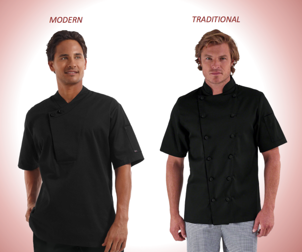 How to Choose the Right Chef Coat and Fit with Chefuniforms.com_Modern & Traditional Fit