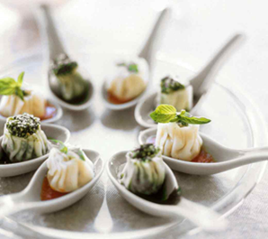 Steamed Ricotta Dumplings