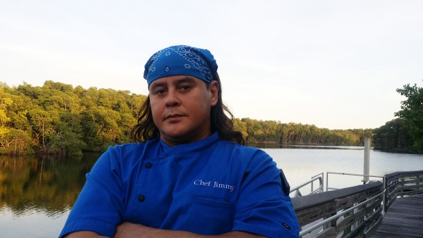 Chef Jimmy's Blue Pic.