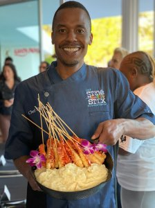 Chef Stew was born in Baltimore and now resides in Las Vegas. He's  a father, a gourmet chef/caterer, TV personality, celebrity chef and president of the Transition Kitchen Foundation