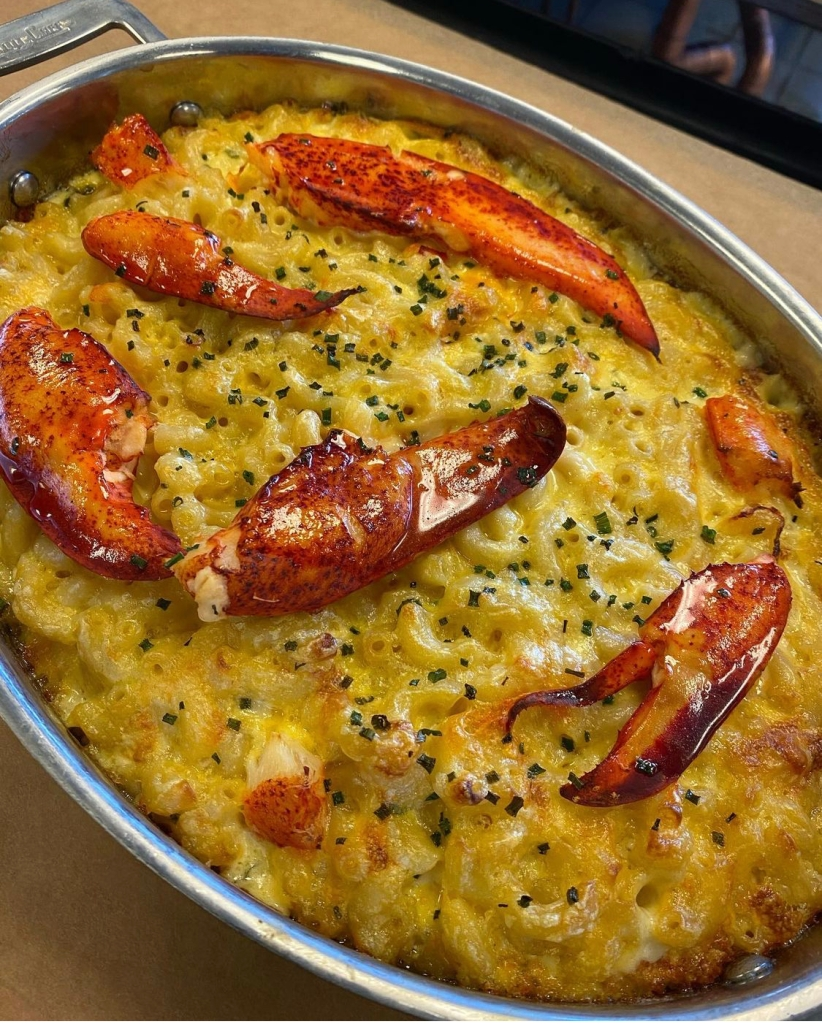 Chef Uniform's Chef of the Month, Chef Jaycee's Lobster Mac & Cheese